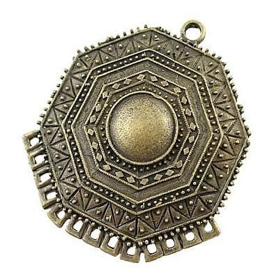 Bronze - Charms Metal Pendants