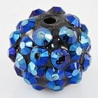 Rhinestone Beads - Resin Base