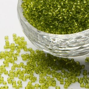 Clear Seed Beads - 12/0