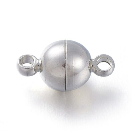 Silver Magnetic Clasp