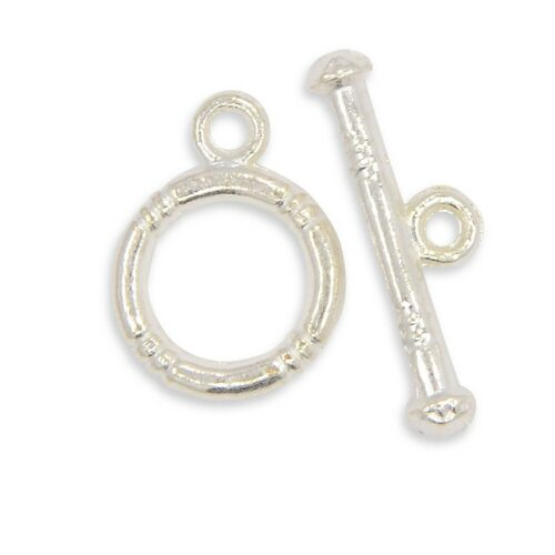 Alloy Ring Toggle TBar Clasp