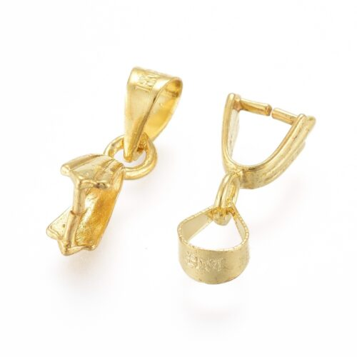 Gold Plated Pinch Bail Hooks