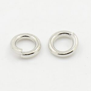 Silver Plated Jump Rings